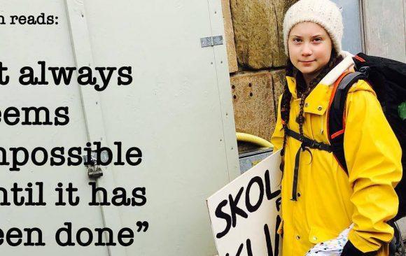 Greta Thunberg e i giovani per l'ambiente